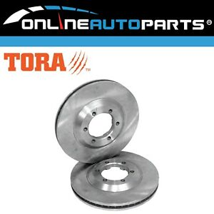 Front Pair Brake Disc Rotors Holden Rodeo RA 2003~2008 TFR32 TFR77 RWD 2.4L 3.0L