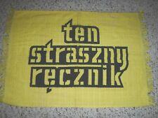 PITTSBURGH STEELERS RARE TERRIBLE TOWEL VINTAGE TERRIBLE TOWEL FRINGED POLISH