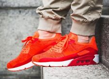 BNWB Nike Air Max 90 Ultra 2.0 Flyknit Bright Crimson taille UK 11, 875943-600