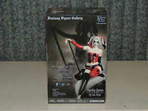 Yamato Fantasy Figure Gallery Harley Quinn By Luis Royo Statue IN BOX