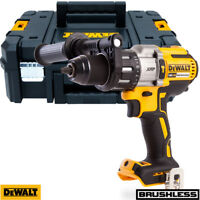 Dewalt DCD996N 18V XR 3-Speed Brushless Hammer Combi Drill With T Stack Case