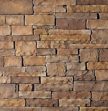 Stone Veneer Cultured Brown Cliff Face Stone 88 Square Feet!  In Stock Call Now!