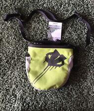 Evolv Chalk Bag RoundTangular (Lime) With Belt New 10-5