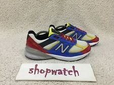 💥 New Balance 990v5 limited edition multicolor Running shoes US990MC5 Size 10.5