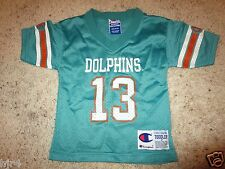 Dan Marino #13 Miami Dolphins NFL Football Champion Jersey Toddler 2T
