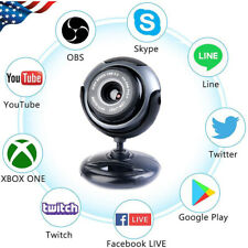 Hd Rotatable 480P Webcam Pc Laptop Web Camera Video Recording with Microphone Us