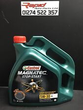 Castrol Magnatec Fully Synthetic 5W 30 A5 ENGINE OIL 4 Litre  4L