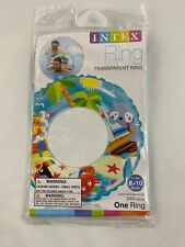 "24"" INTEX INFLATABLE SWIMMING RING, print, crab, Cat , very colorful"