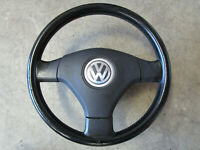 Lederlenkrad VW Golf 4 Bora Passat 3B 3BG Sportlenkrad Lenkrad 3B7419091F