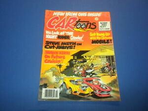 CARTOONS/CAR TOONS magazine 1984 October - Petersen Publishing racing hot rods