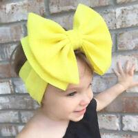 Hair Headband Baby Bow Girl Band Kids Toddler Newborn Flower Infant