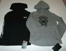 ~2 NWT Boys UNDER ARMOUR & HURLEY Long Sleeve Hoodie Shirts! Size 7 Nice:)!
