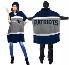 NFL New England Patriots  Hoodie Poncho (one Size Fit Most) %100 Licensed