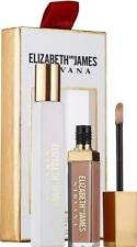 Elizabeth and James Nirvana White Gift Sets 0.34 oz Rollerball, Nude Lip Gloss 0