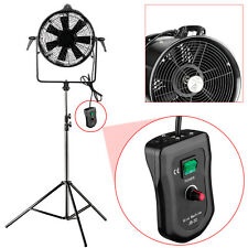 Neewer Professional Metal Adjustable Blower Fan Wind Machine for Studio Shooting