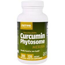 Jarrow Formulas Curcumin-phytosom mit Meriva 500 MG 120 vegetarische Kapseln