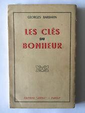 LES CLES DU BONHEUR 1943 GEORGES BARBARIN ASTRA