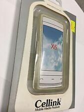 Nokia X6 TPU Flexi Case Cover Clear TPU4458-201. Brand New in Original packaging