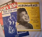 4 Piano Sheet Music Original Vintage Rag Time Selection Winifred Atwell 1950