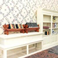 Doll's House Bookshelf with SIX Books 1:12 For Dollhouse NEW! # J0B4