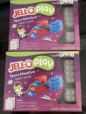 Jell-O Play Space Adventure Build + Eat Building Block Molds - Like Large Legos