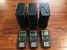 Texas Instruments TI-83 Silver Edition/83 Plus Lot Classroom Set Of 30