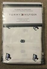 Tommy Hilfiger Flannel Standard Pillowcases Pkg of 2 NWT