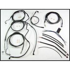 Control cable kit touring cromo negro - Magnum 487341