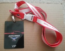 MARUSSIA TEAM VIP F1 PASS with Lanyard (FORMULA 1)