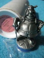 ASTERIX & OBELIX Gallier KÖNIG Majestix Schachfigur Schach Zinn Zinnfigur Extec