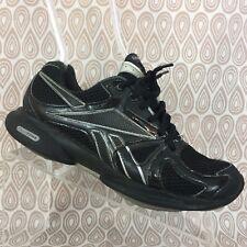 Reebok Easytone Women's Black Leather Mesh Walking Sneakers Size 7.5 S47