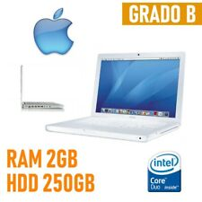 PC APPLE MACBOOK 2006 A1181 CORE DUO 2GB HDD 250GB NOTEBOOK PORTATILE COMPUTER-