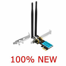 More details for  2.4g/5ghz wireless 1200mbps pci-e wifi card dual band network adapter desktop