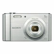 Sony Cyber-shot DSC-W800 20.1MP Digital Camera 5x Optical Zoom Silver