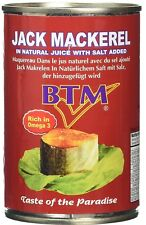 Tin Fish - Jack mackerel - 01 TIN  (Free UK Post )