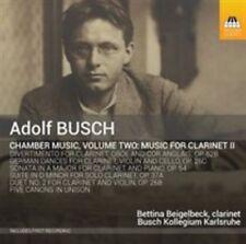 Adolf Busch: Chamber Music for Clarinet, Vol. 2, New Music