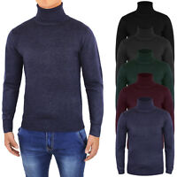 Pull homme Casual pull col roulé Slim Fit Cardigan Hivernal pull
