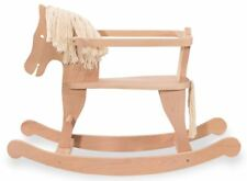 PINOLINO Schaukelpferd HANSI Buche Holz vollmassiv Holzschaukelpferd NEU