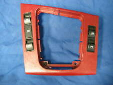 USED BMW E46 MASTER WINDOW SWITCH SHIFTER TRIM / BEZEL WITH SWITCHES