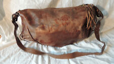 MONTINI Italian Made Copper Genuine Leather Crossbody Shoulder Bag Purse