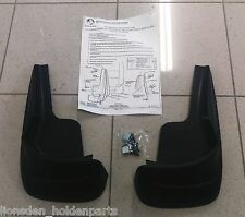Genuine Holden New Front Mudflaps Suits VY VZ Commodore Acclaim Equipe Executive
