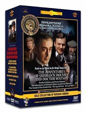 The Adventures of Sherlock Holmes & Doctor Watson - 6 DVD with English:SUBTITLES