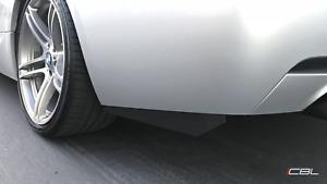 For BMW E90 E92 F30 F80 335i M3 Rear Bumper Extension Splitters