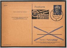 Y8 1951 *ERFURT GERMANY* Postcard {samwells-covers}PTS