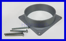 Fan shroud for 120mm fan, ASIC etc, designed for 100mm PVC pipe fittings