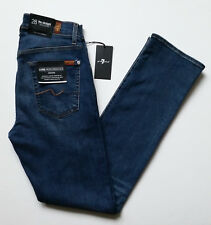 7 for All Mankind The Straight Luxe Performance Jeans Mens Size 28x33 Denim