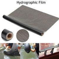 Hydro Film Eau Transfert Pva Noir Carbone Fibre Impression Trempage