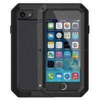 Shockproof Heavy Duty Aluminum Metal Bumper Cover Case Waterproof iPhone 6 7 8 +