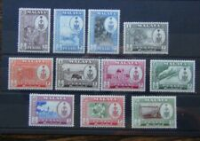 Penang 1960 set to $5 MNH SG55 - SG65
