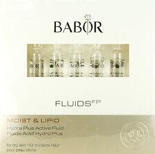 Babor Moist Lipid Hydra Plus Active Fluid 7 Ampoules X 2ml Each  BRAND NEW